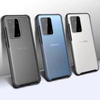 Case Samsung S20 Ultra / S20+ Plus / S20 Anti Crack Baby Skin Casing - Hitam, S20 Ultra