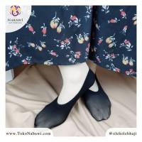 Kaos Kaki Tawaf Tipis Hitam Polos Sepatu Towaf Perlengkapan Haji Umroh