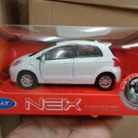 Welly Nex Toyota Yaris Putih Skala 1/36