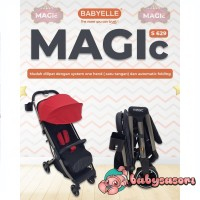 Stroller Babyelle Magic Lipat Otomatis (warna tanya admin)