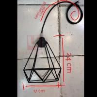 lampu gantung hias lampu piramid lampu minimalis lampu cafe