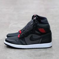 Air Jordan 1 High Satin Black 100% Authentic