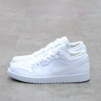 Nike Air Jordan 1 Low White 100% Authentic