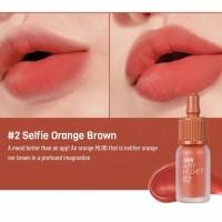 Peripera Ink Airy Velvet #02 Selfie Orange Brown