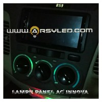 Lampu Led Panel Knob AC Innova Dashboard Highpower LED CHIP 3030 Mobil