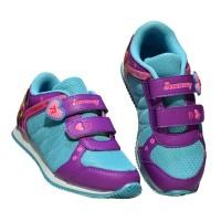 sepatu sneakers anak perempuan sepatu karakter merk 7ray tipe princess