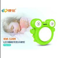 Lampu Tidur Sensor LED motif kepiting Hijau