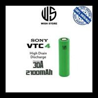 BATTERY BATERAI 18650 VAPOR VAPE - SONY VTC4 2100MAH30A AUTHENTIC 1PCS