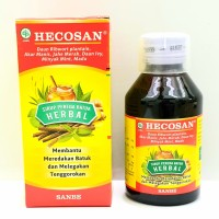 HECOSAN Herbal sirup Batuk dan sakit tenggorokan 120 ml