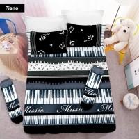 Sprei 3D King NEW VITO motif Piano