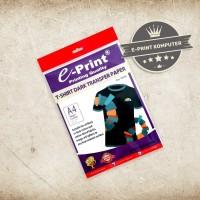 Transfer Sablon KaosTransfer Paper Dark T-Shirt E-print A4