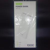 Powerbank ROBOT RT170 10000 mAh Dual Output dan Input - super slim