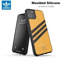 Case iPhone 11 Pro Max Adidas Originals Moulded Soft Case - Gold Black
