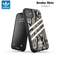 Case iPhone 11 Adidas Originals Snake Skin - Black Alumina