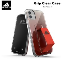 Case iPhone 11 Adidas Sport Grip Clear Case - Solar Red