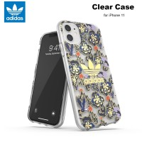Case iPhone 11 Adidas Originals CNY Clear Case - Royal Flowers