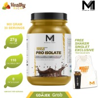 MUSCLE FIRST GOLD PRO ISOLATE MANGO WHEY PROTEIN ISOLATE WPI 100% ASLI - guava