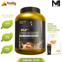 M1 MUSCLE FIRST PRO GOLD GAINER 6 LBS - CARAMEL