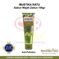Mustika Ratu Sabun Wajah Zaitun - Anti Pollution - 100gr