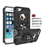 Hard Case Iphone 5 5s SE Ring ARMOR Kickstand Hybrid Hardcase