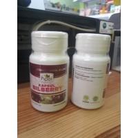 Bilberry carrot extract HPAI obat herbal vitamin mata Minus