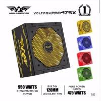rmaggeddon Power Supply / PSU Voltron 475X [ Max Power 950 Watt ]