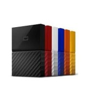WD My Passport New Design Hard Disk Eksternal - Merah 1TB 2.5 Inch USB
