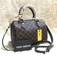 tas wanita cewek murah selempang branded batam import L*V BANDO DAMIER