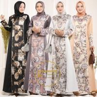 Karina Dress Baju Gamis Terbaru By ALEXANDRIAH
