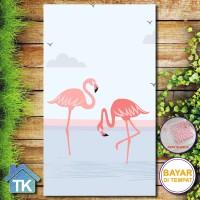 Hiasan Dinding Flamingo / Dekorasi Rumah / Hiasan Kamar Cafe