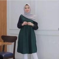 Tunik Muslim Modern Polka