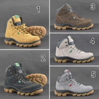 Sepatu Boots Pria Kickers Trekking Safety Boots big size 45 46 47 48