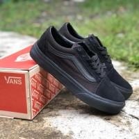 Sepatu Vans Oldskool Classic Full Black