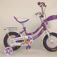 Sepeda Anak Mini Evergreen Daisy 12inch
