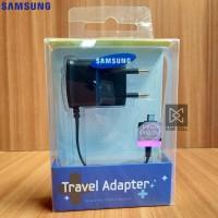 Charger Samsung J1 / J2 / J3 Original 100% micro USB - Hitam