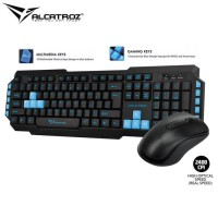 Paketan Alcatroz keyboard M550 + mouse asic pro 6
