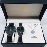 jam tangan couple dw / jam tangan dw / jam tangan paket