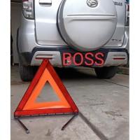 Segitiga Pengaman Mobil Reflektor,Emergency Triangle Warning Sign 43CM