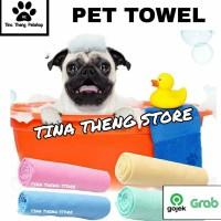 """Handuk Anjing Kucing PET BATH PVA"""" Pet Grooming Towel Handuk Grooming"""