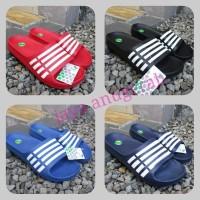 Sandal Karet Motif ADIDAS Merk Komin Ready Size 39 sd 44