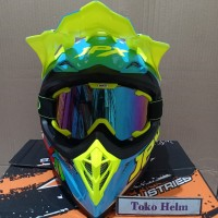 helm JPX cross Motif X25+ goggle
