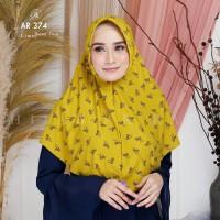 Hijab Arrafi AR 374 Motif Jilbab Instan Serut Ar Rafi Bergo Kerudung