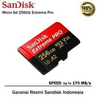 micro SD Sandisk extreme pro 256Gb
