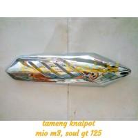 cover tameng knalpot yamaha mio m3 mio soul gt 125