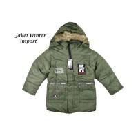 Jaket anak cowok import mantel baju hangat winter laki-laki