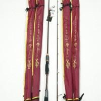 Joran Relix Nusantara Cacing Merah 662M - Spinning - Joran Pancing