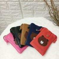 Mini Pocket Phone Tas Selempang Fashion Sling Bag Brown
