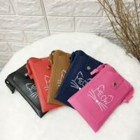 mini Pocket Phone Tas Selempang Fashion Sling bag Meow
