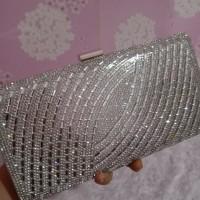 Clutch pesta import diamond