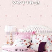 Wallpaper Dinding Modern Bunga VICTORY VC110-1 - VC110-4